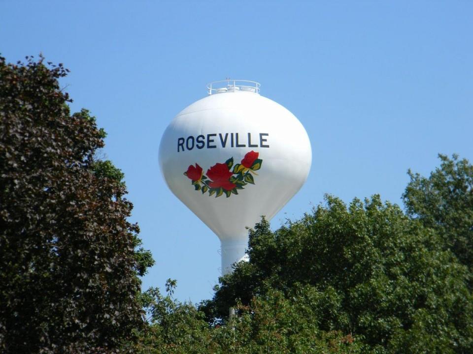 Roseville tank