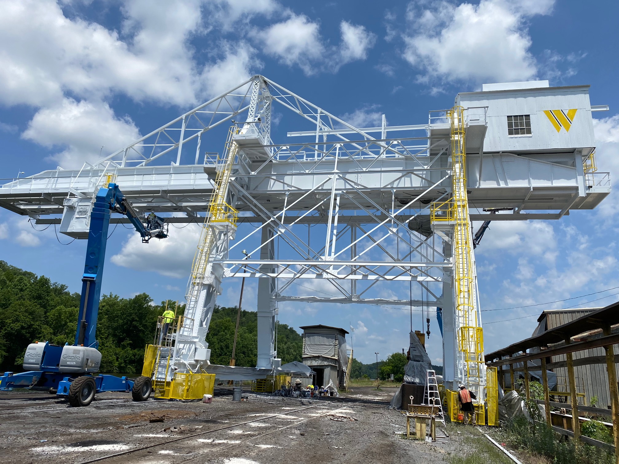 Watco Company Port of Birmingham Crane Renovations