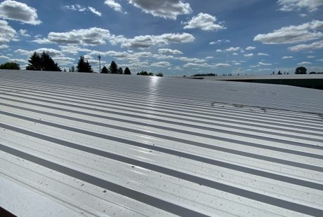 Industrial Metal Roof Painting